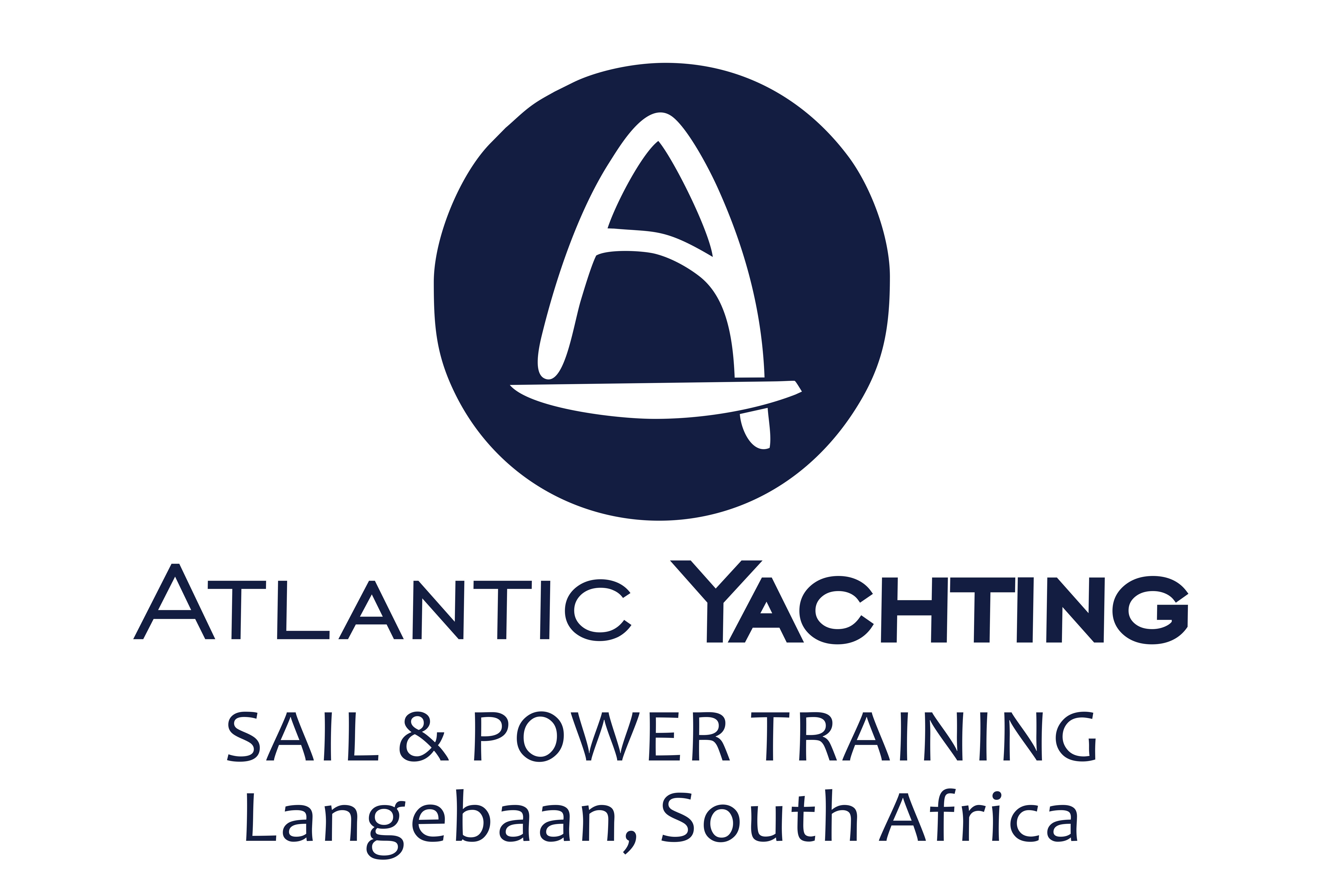 Atlantic Yachting New Logo Navy 4x6