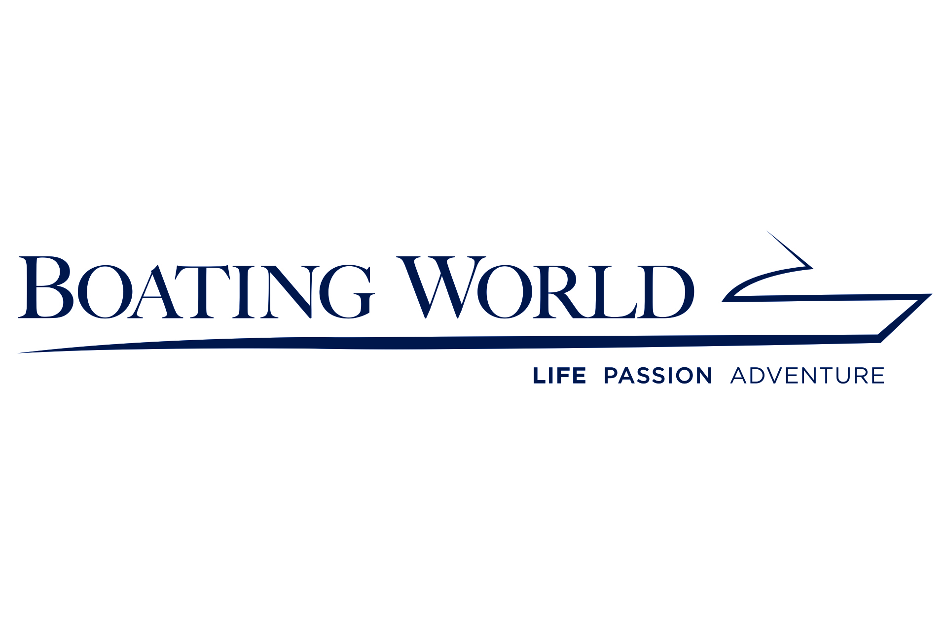 Boating World Logo 4x6