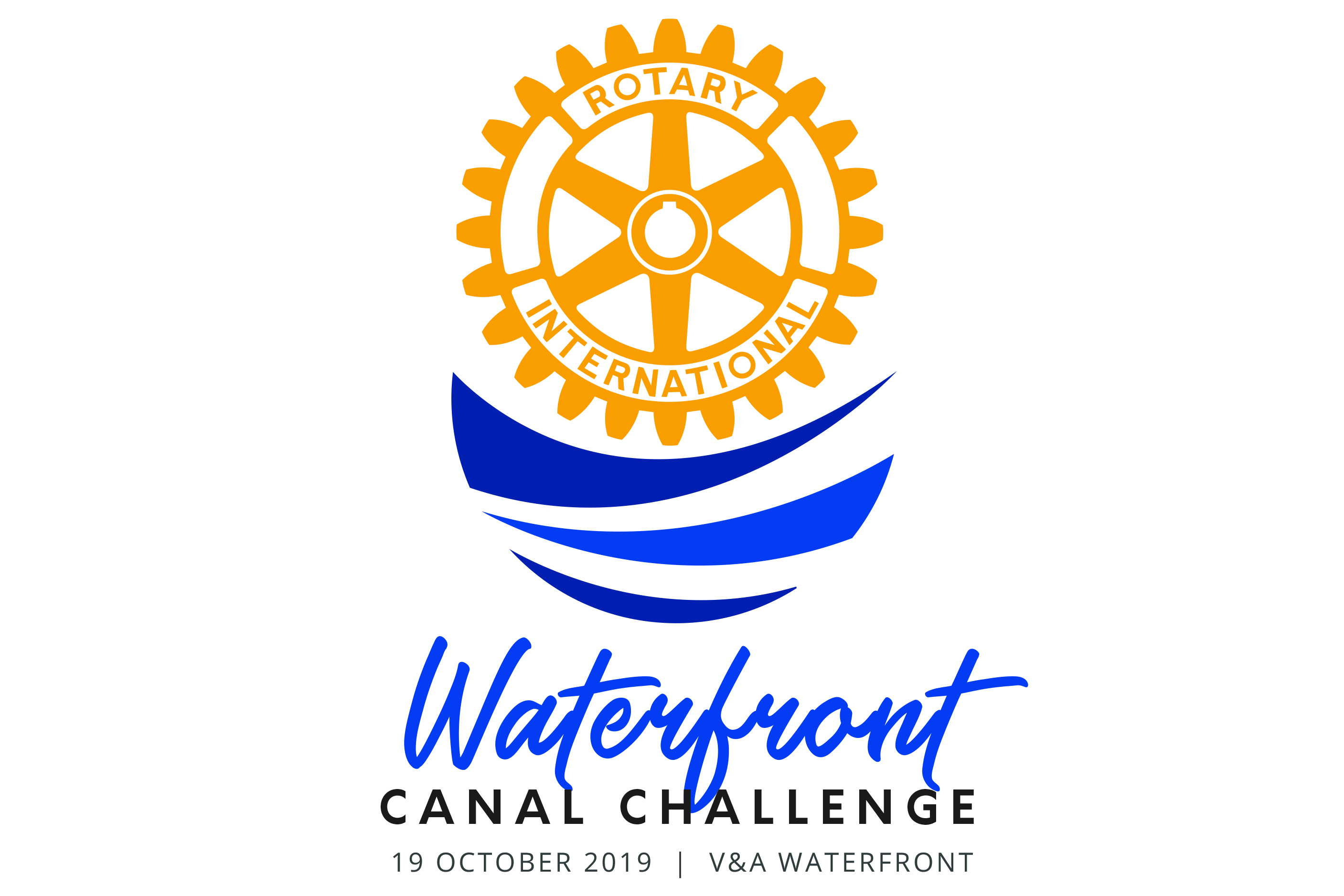 Rotary Waterfront Canal Challenge Logo Final